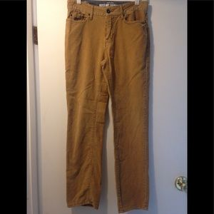 Mossimo corduroy pants 28x30 camel color